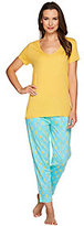 Stan Herman As Is Ultra Jersey Personality Pajama Set