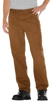 Dickies Men's Relaxed Straight Fit Canvas Carpenter Jean