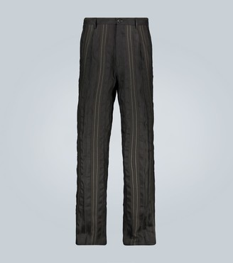 Etro Wool and linen-blend pants