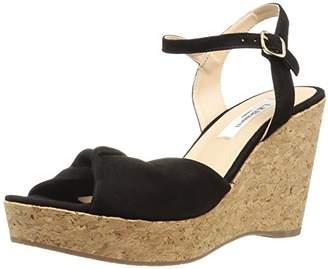 LK Bennett Women's Adeline Wedge Sandal 40 Medium UK ( US)