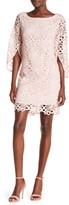 Nanette Lepore Nanette Lace Bell Sleeve Shift Dress