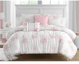 Tabitha Madison Parker Smocked Texture 5-Piece Comforter Set