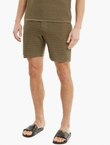 S.n.s. Herning Olive Cotton Resolution Shorts