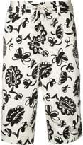 Junya Watanabe printed bermuda shorts
