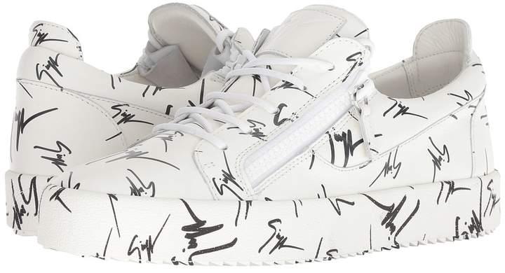 Giuseppe Zanotti May London Graffiti Low Top Sneaker Men's Shoes