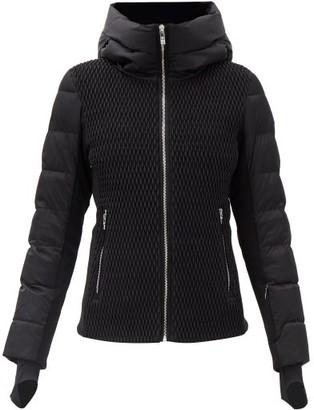 Fusalp Roxane Panelled Quilted Down Ski Jacket - Black