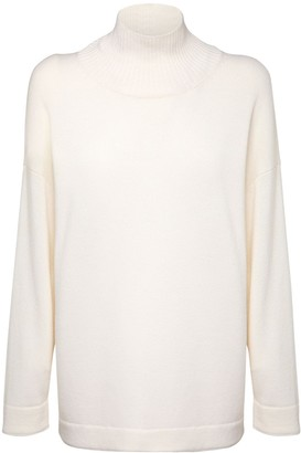 Max Mara Wool Knit Turtleneck Sweater
