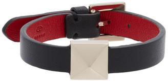 Valentino Black Roman Stud Bracelet
