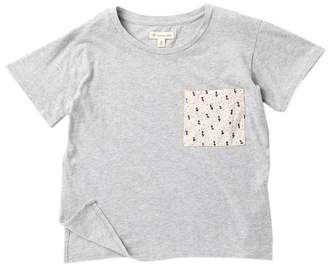 Tucker + Tate Woven Pocket Tee (Big Girls)