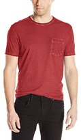 John Varvatos Men's Short Sleeve Crew Neck Pocket T-Shirt