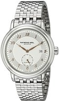 Raymond Weil Men's 2838-S5-05658 Maestro Analog Display Swiss Automatic Silver Watch