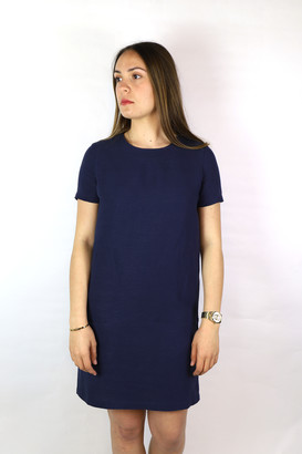Sessun Hubertus Short Dress - viscose | indigo blue | Size S - Indigo blue