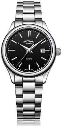 Rotary Watches Stainless Steel Oxford Ladies