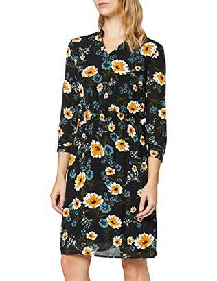 More & More Women's Kleid Von Dress, (Black Multi 4790), (Size: 44)