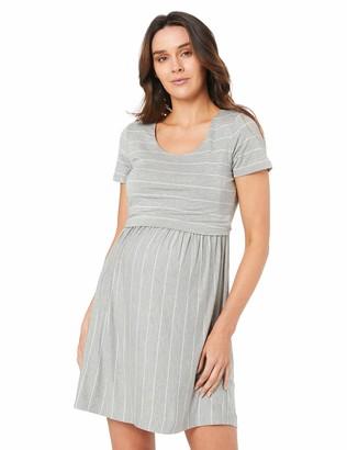 Ripe Maternity Women's Short SLV Raw Edge Nursing Top