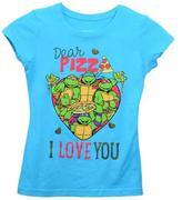 Nickelodeon Teenage Mutant Ninja Turtles Girl`s T-Shirt
