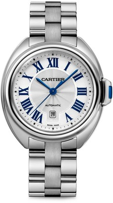 Cartier Cle de Stainless Steel Bracelet Watch/31MM