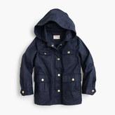 J.Crew Girls' hooded downtown field jacket