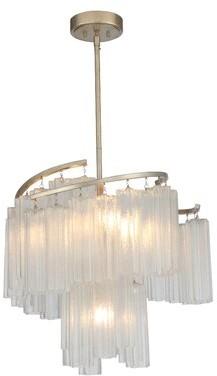 Mercer41 Hatchett 7 Light Unique Statement Tiered Pendant Shopstyle Ceiling Lighting