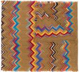 Missoni patterned scarf