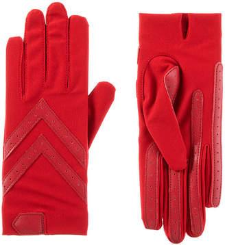 Isotoner Cold Weather Shortie Spandex Gloves with SmartDRI