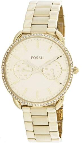 Fossil Tailor Crystal White Dial Ladies Watch ES4263