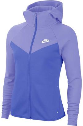 Nike Womens Sportswear Windrunner Tech Fleece Full Zip Hoodie