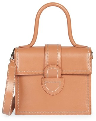 Alaia Small Leonie Leather Top Handle Bag