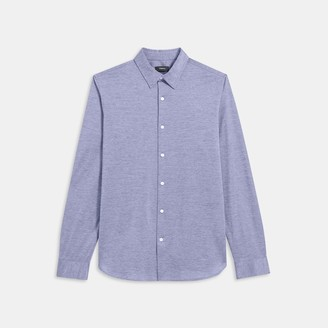 Theory Knit Shirt in Cotton Jersey