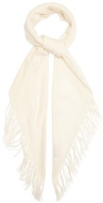 Raey Fringed Western-style Cashmere Scarf - Ivory