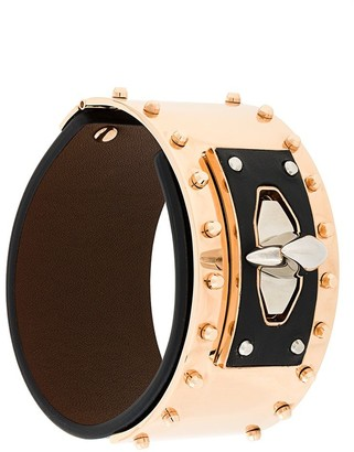 Givenchy Shark Tooth studded bracelet