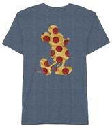 Disney Boys' Mickey Pizza T-Shirt - Navy