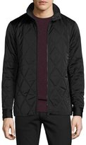 Theory Berli Quilted Jacket, Black