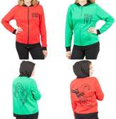 DC Comics Harley Quinn & Poison Ivy Reversible Womens Hoodie Jacket M