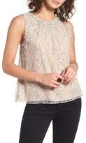 WAYF Women's Finlay Lace Top