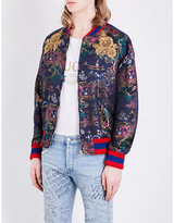 Gucci Donald Duck Jacquard Bomber Jacket