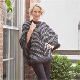 Alfred Dunner Wrap It Up Poncho
