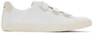 Veja 3-Lock Touch 'n' Close Leather Trainers