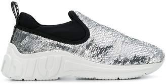 Miu Miu slip-on sequin sneakers