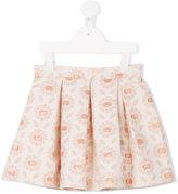 Tartine et Chocolat floral skirt - kids - Cotton/Polyester/Metallized Polyester - 6 yrs
