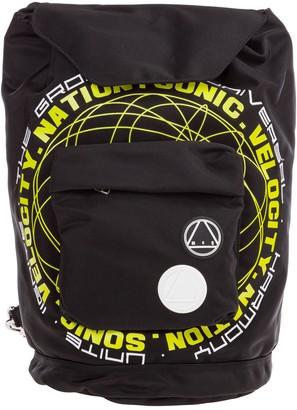 McQ Graphic Printed Rucksack Backpack