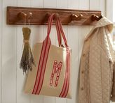 Pottery Barn Rustic Cabide Row of Hooks