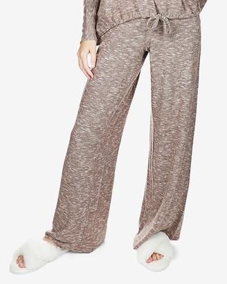 Express Memoi Hacci Wide Leg Lounge Sweatpants
