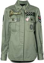 Marc Jacobs military patch shirt