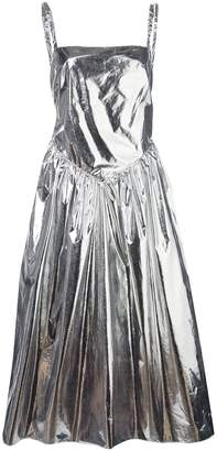 Sandy Liang Nabo metallic dress