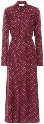 Gabriela Hearst Descartes silk-twill dress