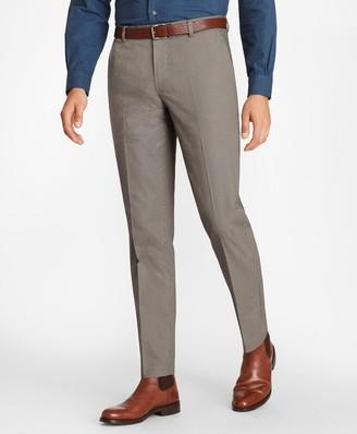 Brooks Brothers Milano Fit Mini-Check Stretch Advantage Chino Pants