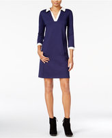Maison Jules Contrast Shift Dress, Only at Macy's