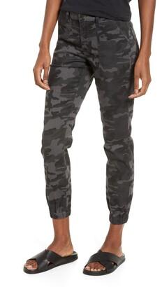 Prosperity Denim Camo Print Jogger Jeans
