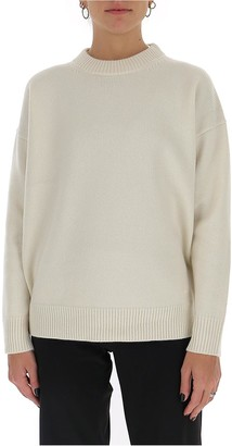 Tory Burch Oversized Crewneck Sweater